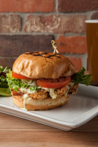 Fried-chicken sandwich