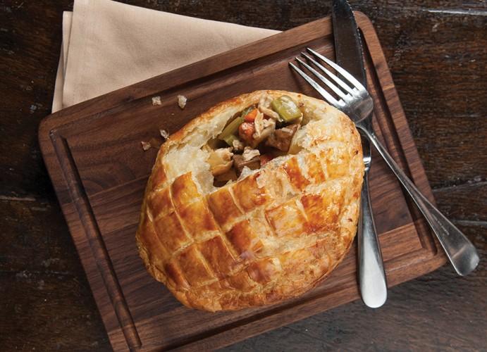 Sidedoor's chicken pot pie