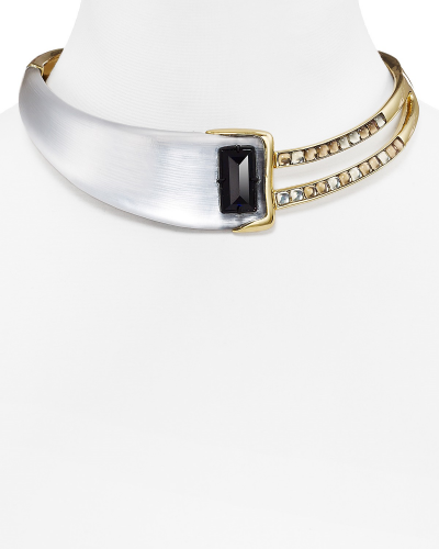 Alexis Bittar lucite cabachon choker, $425; Bloomingdale's Fashion Island