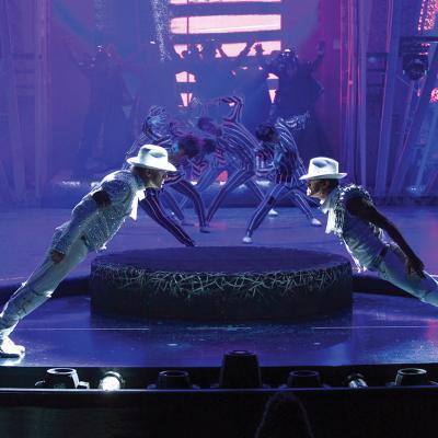 """Cirque du Soleil's """"Michael Jackson ONE"""" show."""