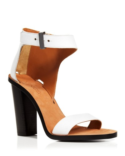 Vince Ankle strap sandals, $425; Bloomingdale's Fashion Island