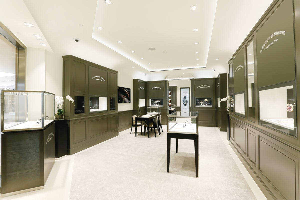 b01ce2be0a05 The A. Lange  Sohne Boutique at South Coast Plaza.