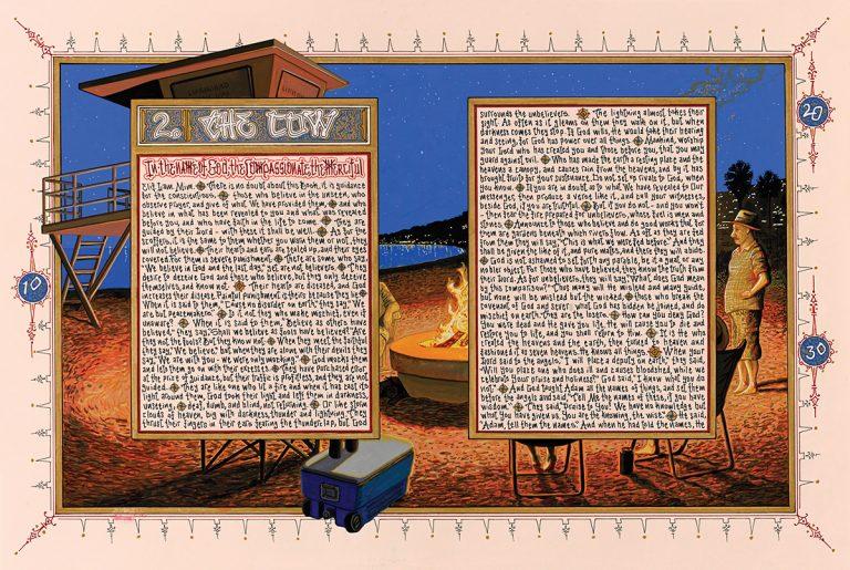 "Sandow Birk's ""American Qur'an"""