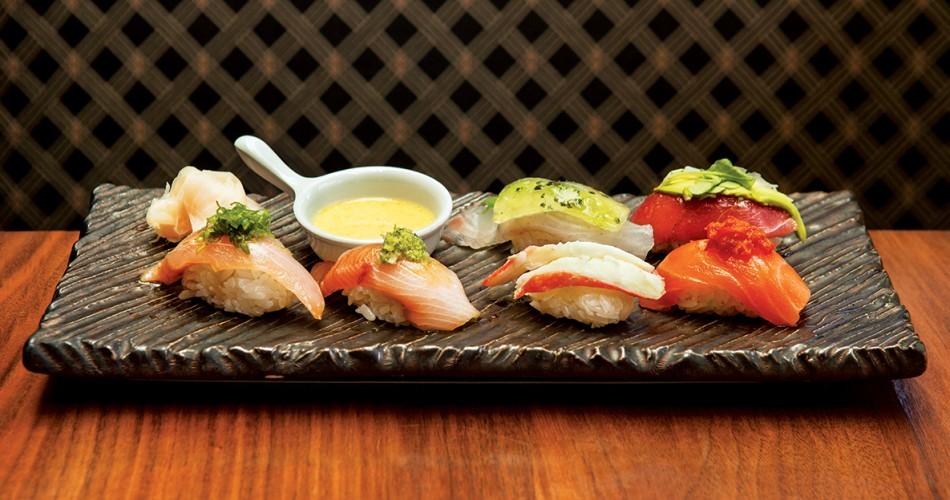 Ume sushi selection