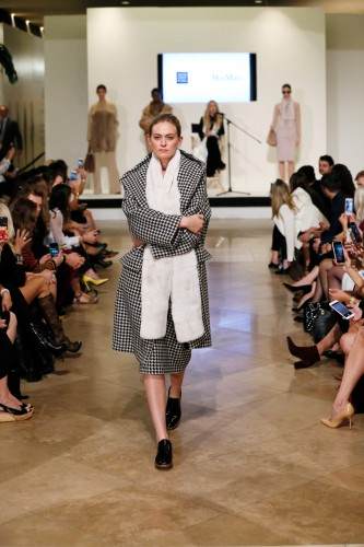 Max Mara at he Live the Look fashion show at South Coast Plaza on October 8, 2015, in Costa Mesa, California.  (Photo by Ryan Miller/Capture Imaging)