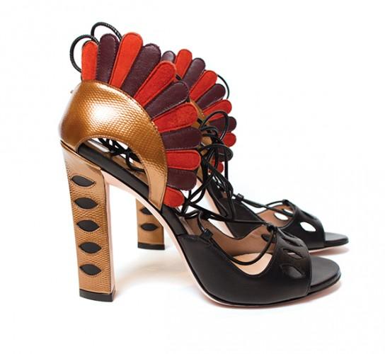Lotus lace-up sandals from paula Cademartori, $1,627.