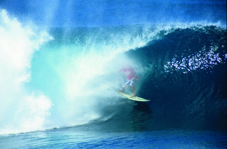 A surfer on O'ahu's North Shore. Photo credit Hawaii Tourism AuthorityKirk Lee Aeder
