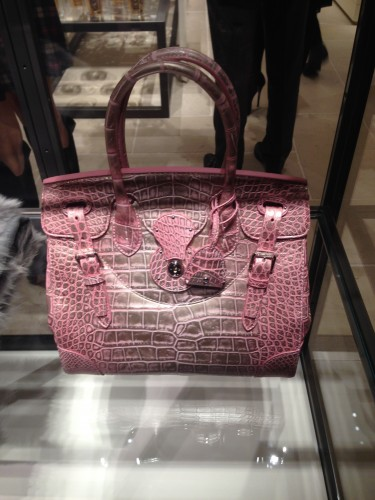 The Pink Ricky bag exclusive to South Coast Plaza