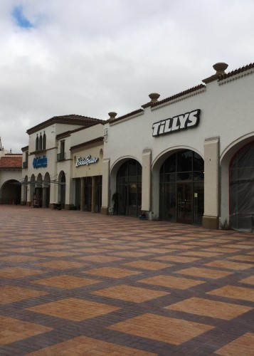 Tilly's at the Outlets at San Clemente.