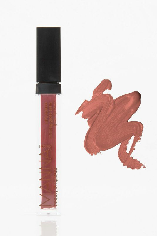 "Manna Kadar Lip Locked Stain in ""Lucky"", $24"