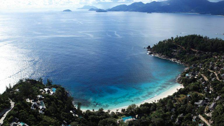 Slog Solution: White Beaches at Four Seasons Resort Seychelles, Mahe Island, Seychelles