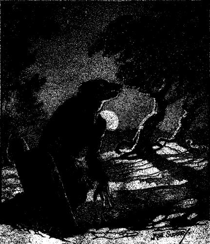 Weird Tales werewolf