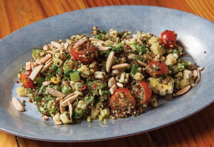 Quinoa-couscous salad