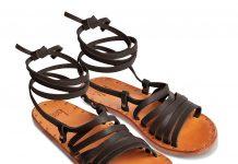 Beek's Heron sandal, $280, Laguna Supply, Corona del Mar, 949‑644-6026; or beek.shop.com