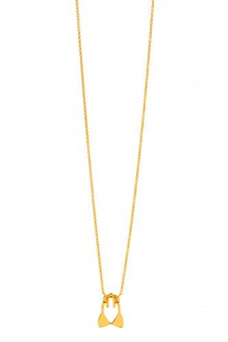 L*SPACE + Gorjana bikini top necklace, $45.