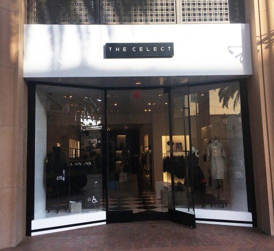 The Celect store front