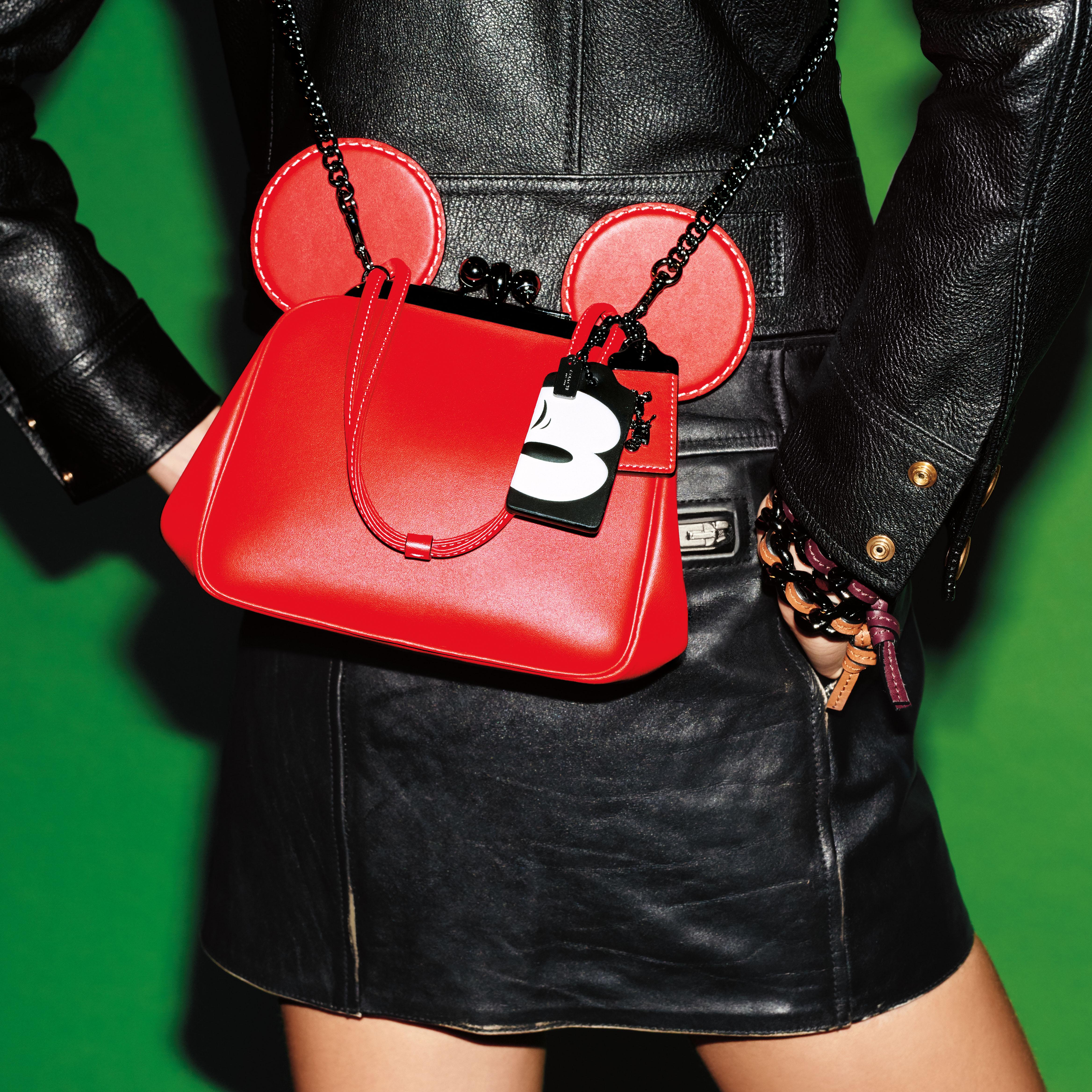 Coach x Disney 'Kisslock' bag, $395.
