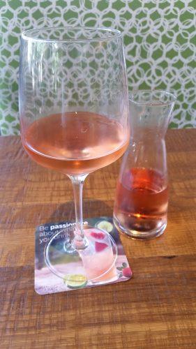 Rhone rose wine cpk