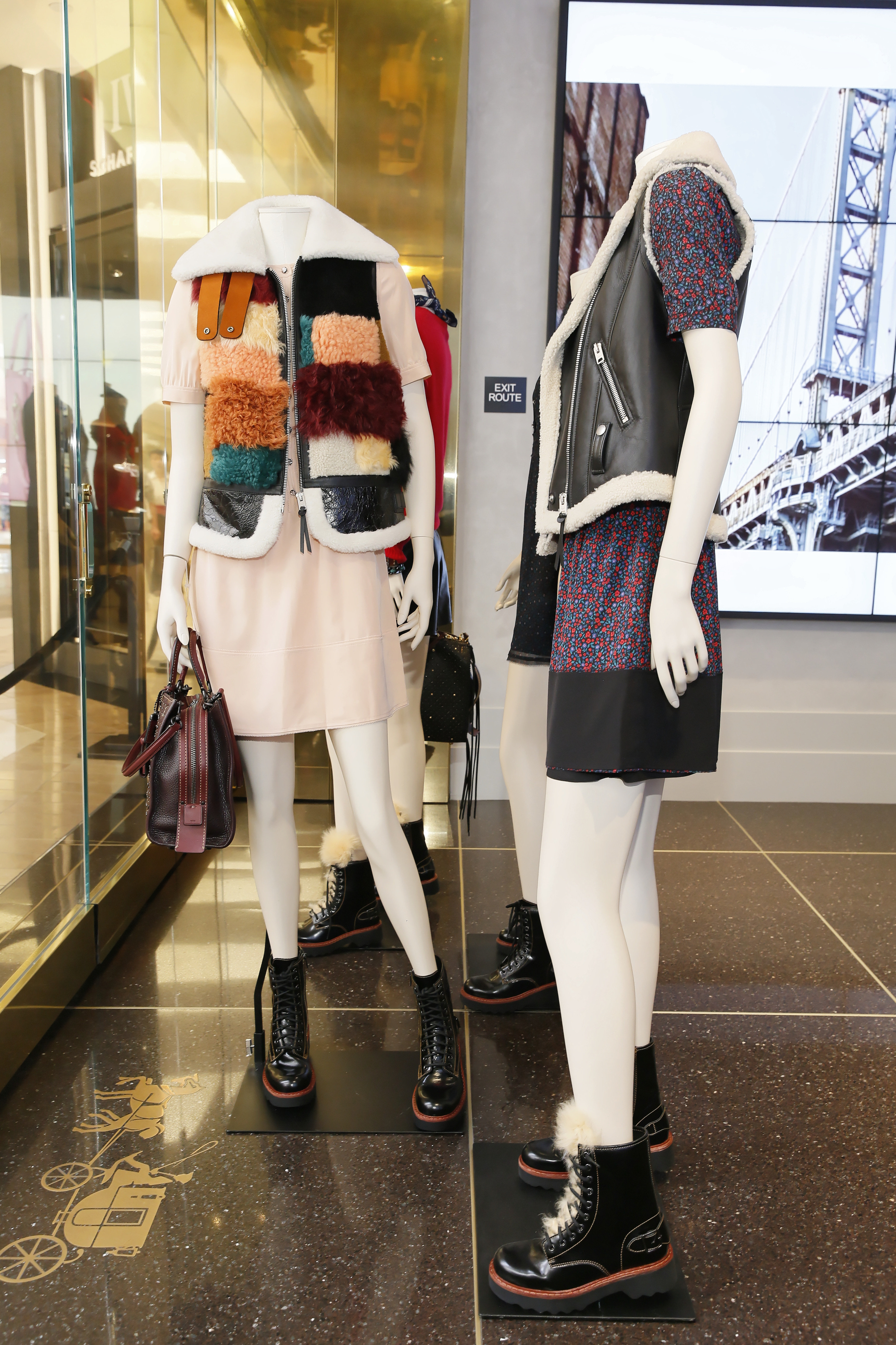 Looks from Coach's Pre-Fall 2016 collection at Coach South Coast Plaza (Photo by Ryan Miller/Getty Images for COACH)