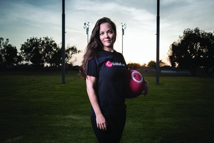 Caroline Fitzgerald Kickballer