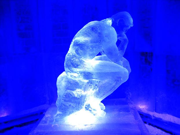 Mark Daukas sculpture