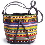 Les Petits Joueurs Daliah beaded bucket bag