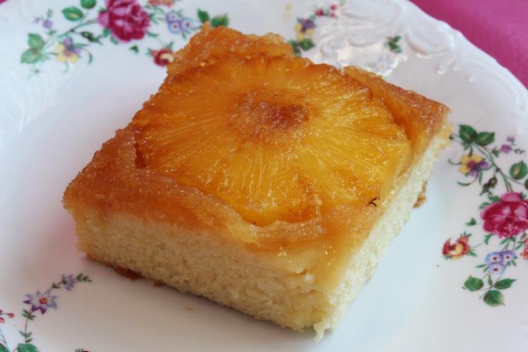 Royal Tea Treatery Pineapple Cake