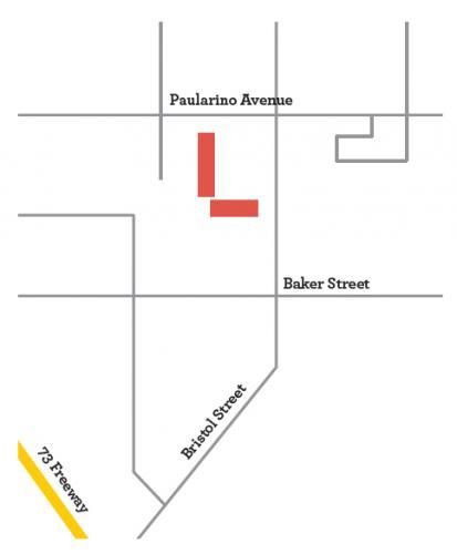 costa mesa neighborhood map