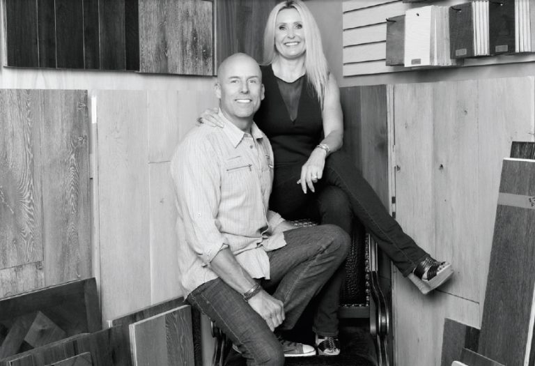 Q&A with Flooring Designers Richard and Cheryll Larson
