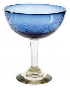 French-Blue-Margarita-Glass-_The-Little-Market