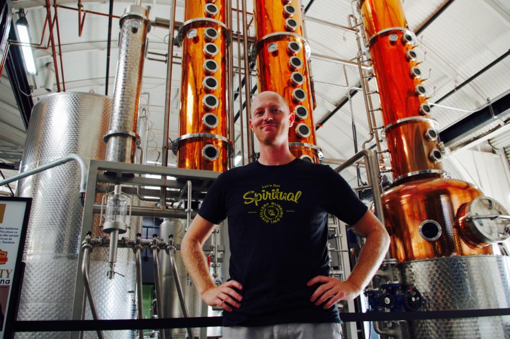 Blinking Owl Distiller Ryan Friesen - Photo Greg Nagel