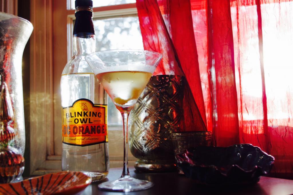 My OC Orange Vodka Martini