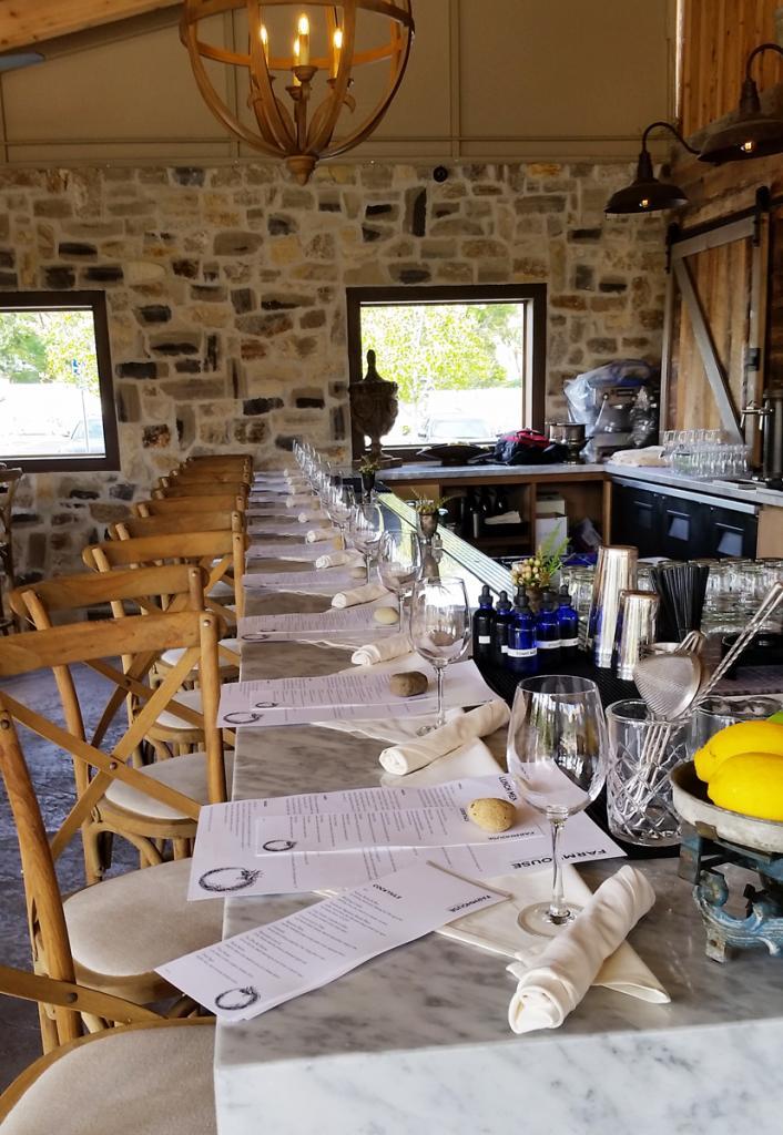 Rogers Gardens Farmhouse Dining Room