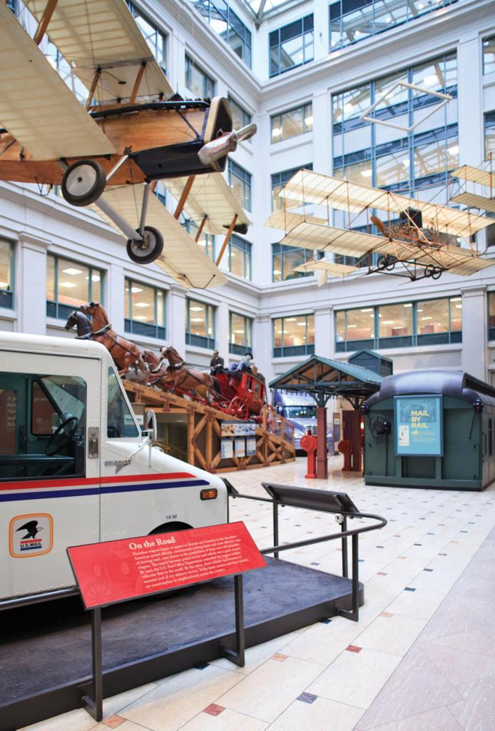 The National Postal Museum is a treat for visitors of all ages.