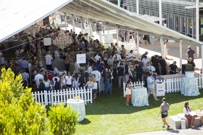 Photo courtesy of the Newport Beach Wine Festival