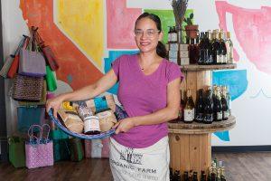 Delilah Snell at Alta Baja Market. Photograph by Priscilla Iezzi.