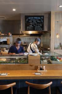 Chef Jo Nishisaka at work