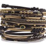 Armenta Collection 18k gold and gemstone bangles, sold separately, Neiman Marcus, Fashion Island, 949-759-1900, neimanmarcus.com