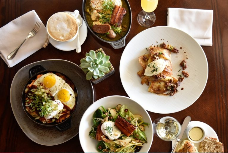 Michael Campbell Makes Brunch Soar at The Loft at Montage