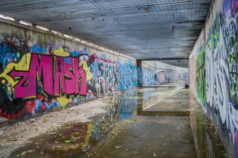 A Graffiti Covered Tunnel in Irvine You Probably Don't Know About