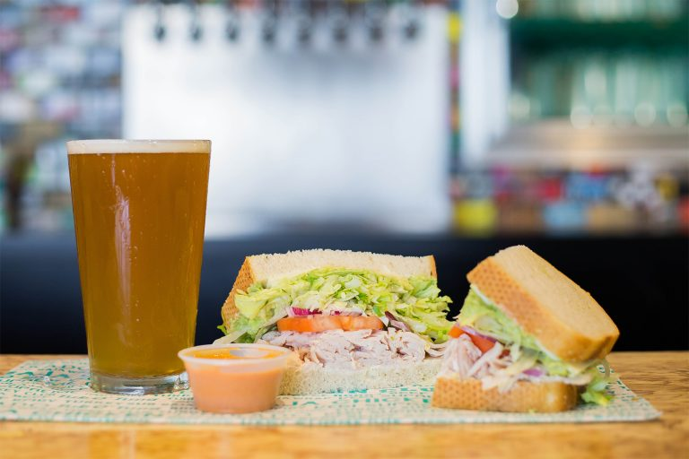 Draft Beer and Sammies Done Right: Board and Brew