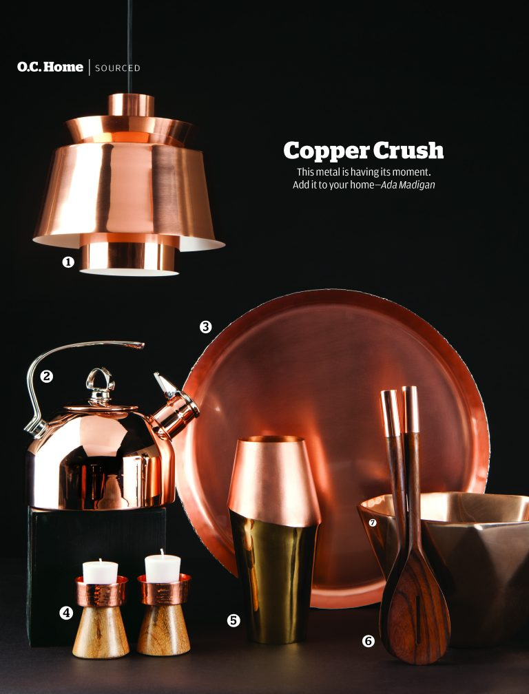 Copper Crush: Add the Metal of the Moment to Your Home