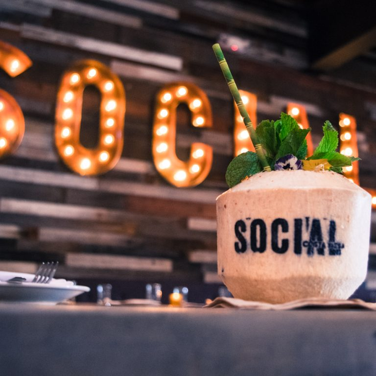 Get Gregarious With Social's New Spring Cocktails