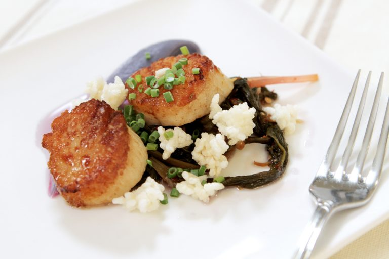 VIDEO: Karl Pfleider, Executive Chef at The Blind Pig Shows How to Cook Scallops to Perfection