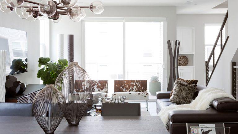 Irvine's Cantoni Helps Costa Mesa Homeowner Achieve Modern Bachelor Pad Vision