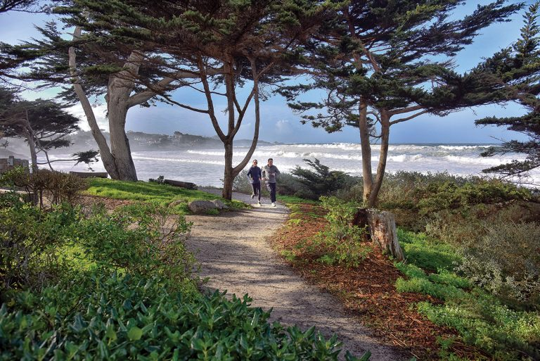 Take a Quiet Break This Year in the Rustic Village of Carmel