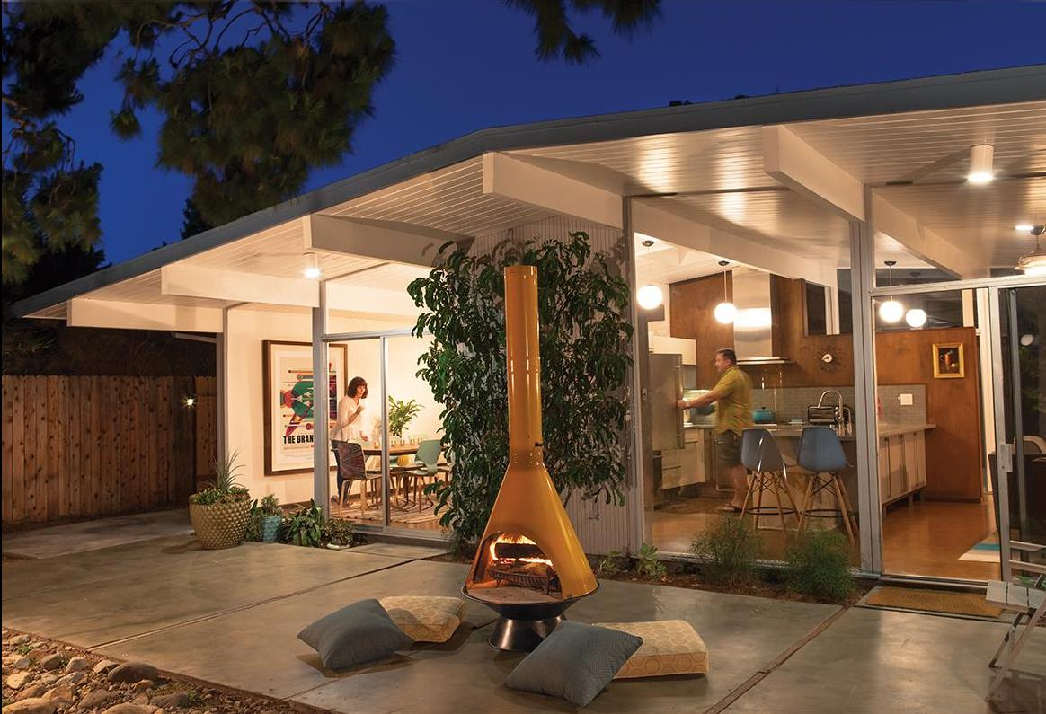 See These Mid-Century Modern Eichler Homes Come to Life ...