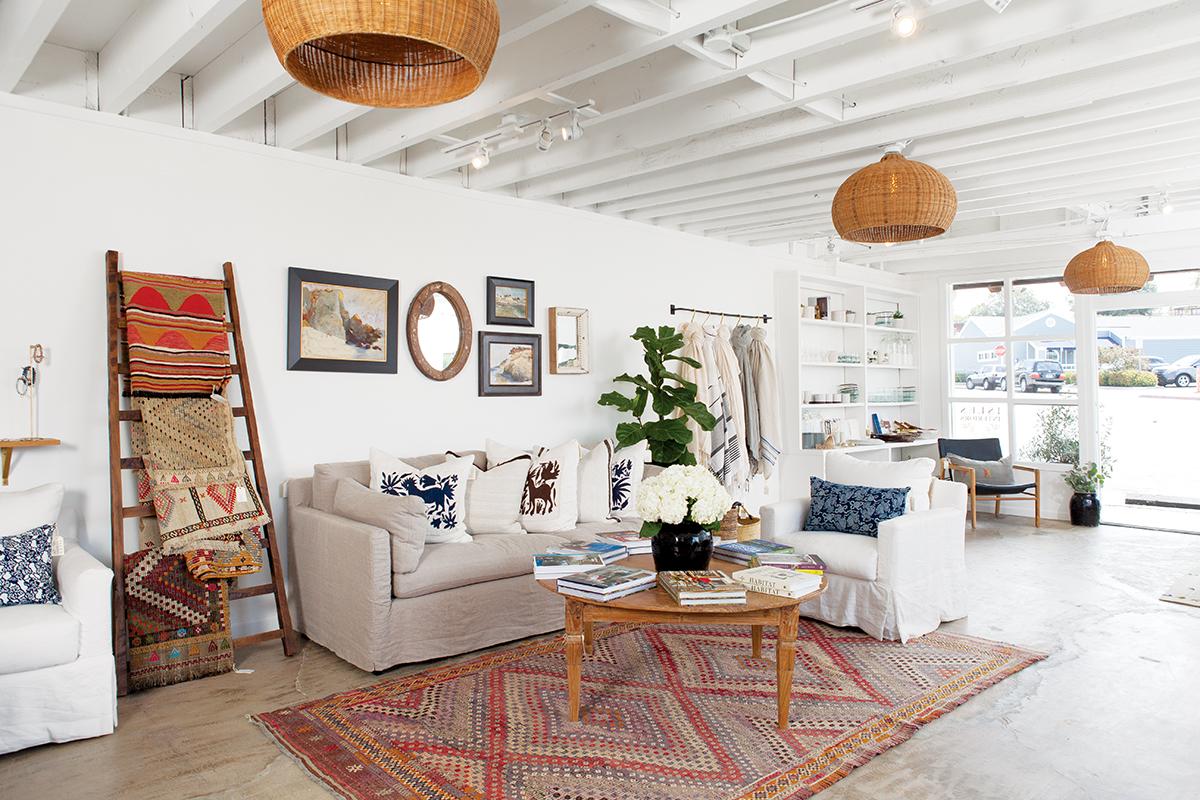 A Newport Beach Interior Design Boutique That Offers Fresh
