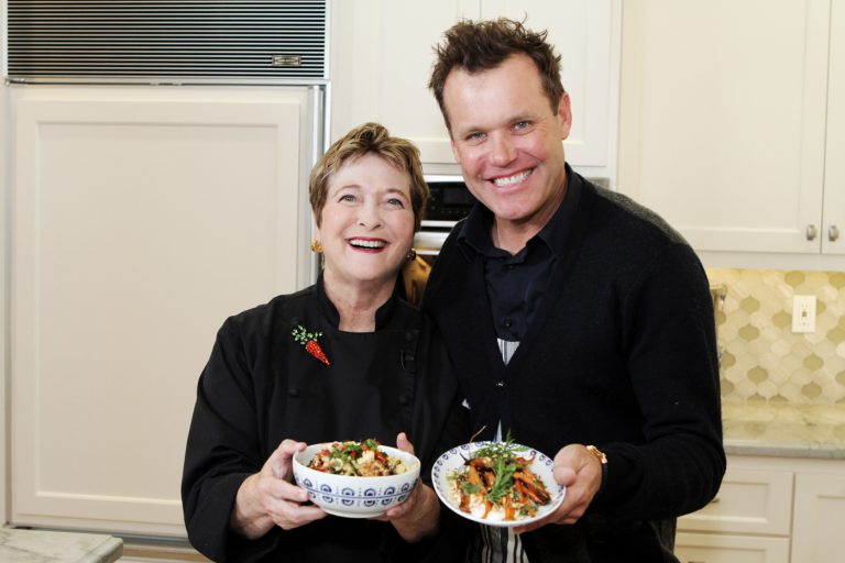 VIDEO: Chef-restaurateur Brian Malarkey Whips Up Delectable Sides With Cathy Thomas