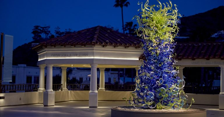Dale Chihuly's Iconic Works are Now Showing on Catalina Island